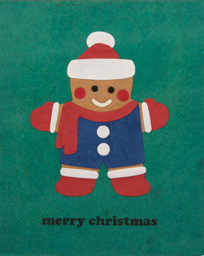 Merry Gingerbread Man